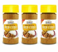 Grace Jamaican Style Mild Curry Powder (3 Pack, Total of 6oz)