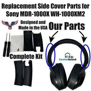 Replacement Side Cover Slider Part KIT for Sony MDR-1000X WH-1000XM2 Headphones