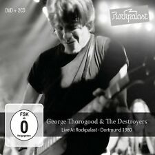 GEORGE THOROGOOD&THE DESTROYERS - LIVE AT ROCKPALAST:DORTMUND 1980 2 CD+DVD NEU