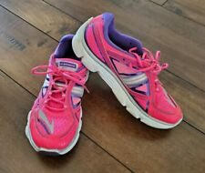 BROOKS Pure Flow pirple/pink running shoes - girls, size 3