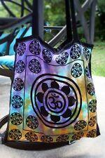 Lotus OM Aum Symbol Eco Reusable TOTE Bag Yoga HIPPIE India Purse Shopping