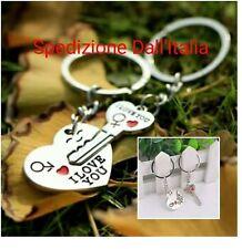 Coppia portachiavi San valentino Romantico per Lui Lei idea regalo romantica