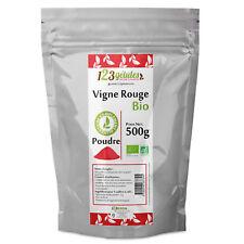 Vigne Rouge Bio en Poudre - 500gr