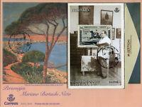 Spain 2019 FDC Mariano Bertuchi Nieto 1v M/S Cover Art Paintings Stamps