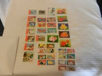 Lot of 38 Equatorial Guinea Stamps, Butterflies, Flowers and more