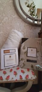 Dorma Chinoiserie green floral king size duvet set and bolster