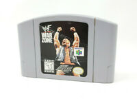 WWF War Zone Nintendo 64 N64 Game Cartridge Only