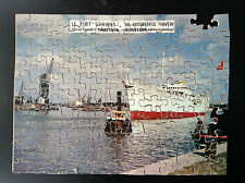 Rare Puzzle du Timbre Tintin incomplet  BE