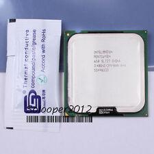 Free shipping Intel Pentium 4 650 3.4 GHz LGA 775 (SL7Z7 SL8Q5) CPU Processor