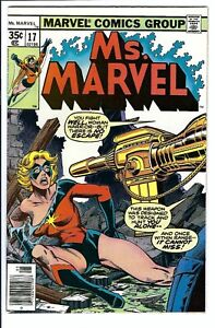 Ms. Marvel #17 NM/NM+ Marvel Bronze Age Key 1st Mystique