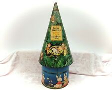 More details for mabel lucie attwell's fairy tree biscuit money box-vintage tin-william crawford