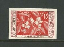 Cameroon: Stamps of 15F thematic flowers imperforated. CM11