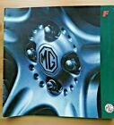 MG F Prestige Sales Brochure. Large format.1996.