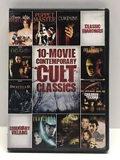 10 Movie Contemporary Cult Classics Dvd Horror Halloween H2O Hellraiser & More