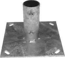 Satellite Dish Mount. Ground Plate for 2 inch Aerial Satellite Mast KAMSAT