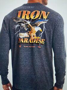 Under Armour Men's Project Rock Iron Paradise Long Sleeve Shirt, XLarge