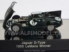 Jaguar D-Type Winner Le Mans 1955 Hawthorn-Bueb with engine d 1:43 Autoart 65586