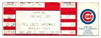 1992 Chicago Cubs St. Louis Cardinals 4/11 Ticket Milt Thompson HR *ST4B