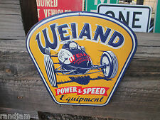 NEW METAL WEIAND POWER SPEED DISPLAY racing car auto retro Look parts holley GM