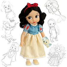 DISNEY ANIMATORS COLLECTION PRINCESS SNOW WHITE TODDLER DOLL 41cm H