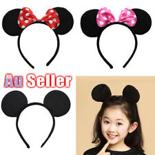 MICKEY Fancy Dress Costume Bow Unisex Party Decoration Minnie Mouse Ear Headband