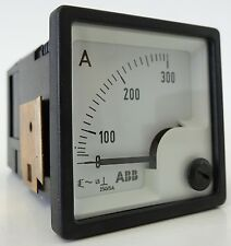 ABB FQ0407 Amperemeter A-Meter NHSN714005P1223 250V/5A-300A UNBENUTZT OVP