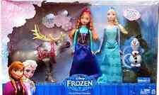 Disney Frozen Friends Doll Collection Gift Set - NEW - Anna Elsa Olaf Sven Dolls