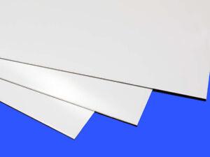 1x A4 (30cm x 21cm) 1mm Plasticard, Styrene, HIPS, High Impact Polystyrene Sheet