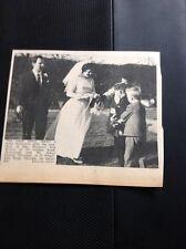66-1 Ephemera 1965 Picture Wedding Margate Margaret Brown J O'conner Westwood