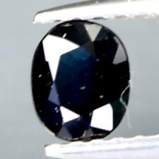 Certificate Include 0.395Cts Natural Blue Sapphire Untreated Oval Loose Gemstone