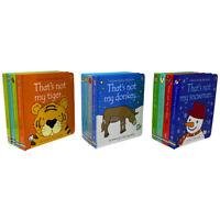 That's not my.. Toddlers 12 Books Collection Set Fiona Watt Snowman, Reindeer..