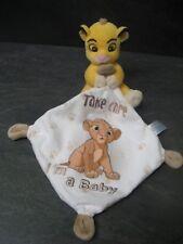 doudou simba le roi lion take care i'm a baby disney nicotoy