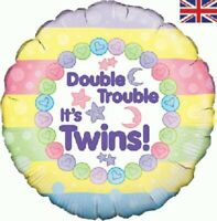 Best Quality & Highly Durable Balloons for Twins Birthday Party, 1 Pack.