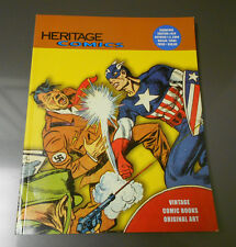 2004 HERITAGE Signature Auction Catalog 813 COMICS & ART 164 pgs Captain America