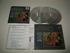 J.S.BACH/CHRISTMAS ORATORIO RILLING(SONY/S3K 39 229)3xCD ALBUM