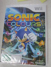 Sonic Colours Wii (NEW)