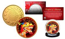 DRAGON BOAT CHINA FESTIVAL Duanwu 24K Gold Royal Canadian Mint Medallion Coin
