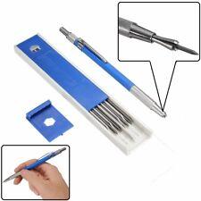 12 Pcs 2.0mm HB soporte de minas de metales Dibujo Mecánico Dibujo al lápiz