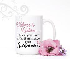 Funny Mom Coffee Mug Mothers Day 15 oz Coffee Cup Gift Humor Motherhood Quotes