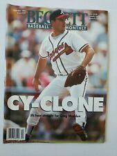 Beckett Baseball Magazine Monthly Price Guide December 1995 Greg Maddux