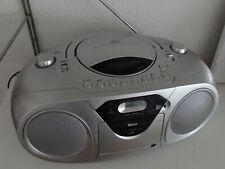 Tragbarer CD-Player / Radiorecorder TEVION RRC293 Kassette volle Funktion Top