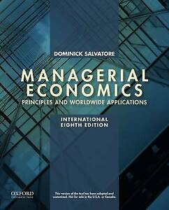 Managerial Economics in a Global Economy by Dominick Salvatore (Paperback, 2015)