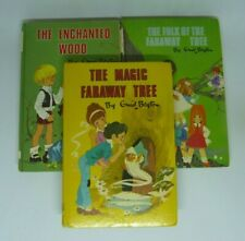 The Faraway Tree Trio of books (Enid Blyton Hardback 1970s)