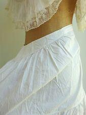 Adorno De Encaje Antiguo & reducir Bullicio Falda Enagua lingerie puntilla Victoriano