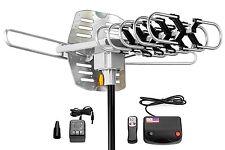 ViewTV Outdoor Amplified Antenna 150 Miles Range 360 Degrees Rotation