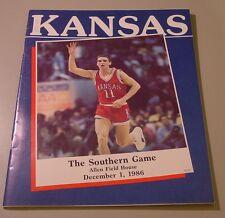 KU Jayhawk Basketball Program - Southern Dec 1, 1986