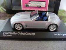 1/43 Minichamps Ford Shelby Cobra Concept 2004 ARGENTO METALLIZZATO