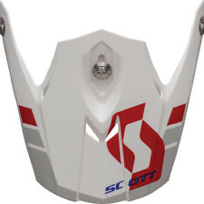 SCOTT 350 pro Photon Visor Helm Visier Weiß/rot