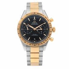 Omega Speedmaster 57 стальные розовое золото черный циферблат мужские часы 331.20.42.51.01.002