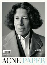 ACNE PAPER #14 Manhattan Portraits FRAN LEBOWITZ Alana Zimmer JEFF KOONS @New@